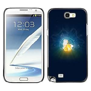 Be Good Phone Accessory // Dura Cáscara cubierta Protectora Caso Carcasa Funda de Protección para Samsung Note 2 N7100 // Aries Zodiac Sign