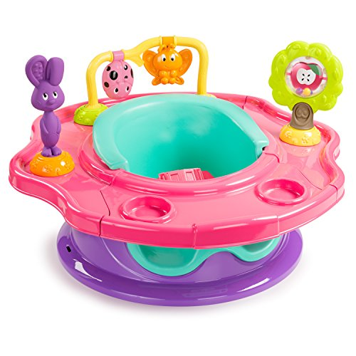Summer Infant 3-Stage SuperSeat, Forest Friends - Girl