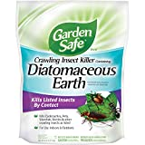 Garden Safe Brand Crawling Insect Killer Containing Diatomaceous...
