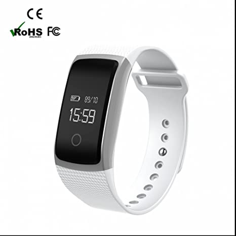 Sport Bluetooth Smart Watch Fitness Armband 24 horas Pulsómetro ...