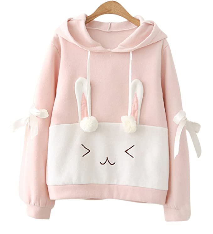 4103dafd957d CRB Fashion Womens Teens Animal Anime Cosplay Cartoon Sweatshirt Shirt Hoodie  Hoody Top Jumper Sweater (