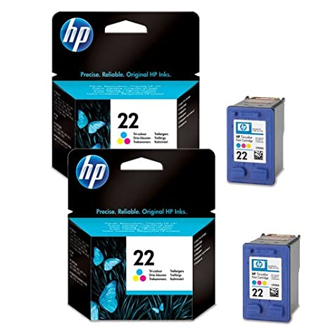 2 cartuchos de tinta para impresora HP Deskjet F4100 ...