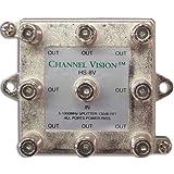 Channel Vision HS-8V 8-Way Vertical Splitter/Combiner
