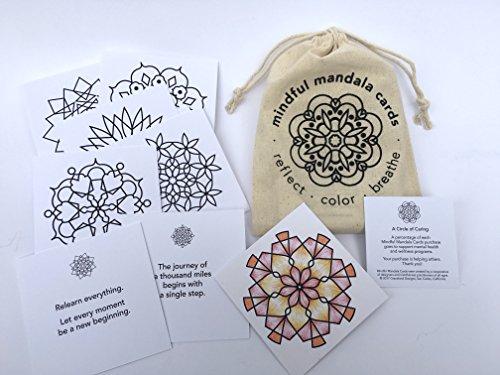 Mindful Mandala Cards thoughtfully mindfulness product image