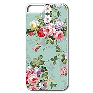 Delicate Flower Pc Fashion Cover For IPhone 5/5s