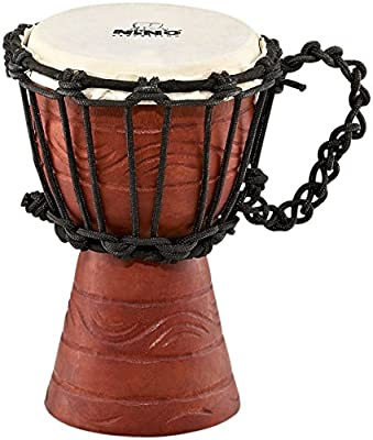 Nino Original African Style Rope-Tuned Water Rhythm Series Djembe, XXS by Nino