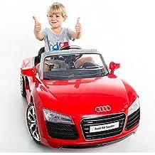 Item Ways Audi R8 Spyder 12V Electric Kids Ride On Car Licensed MP3 RC Remote Control Red