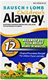 Bausch & Lomb Alaway Children`s Allergy 12 Hour Eye Drops 0.17 oz. (3 Pack)
