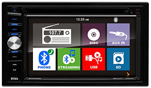 BOSS Audio BV9366B Double Din, Touchscreen, Bluetooth, DVD/CD/MP3/USB/SD AM/FM Car Stereo, 6.2 Inch Digital LCD Monitor, Wireless Remote by BOSS Audio Systems (Image #1)