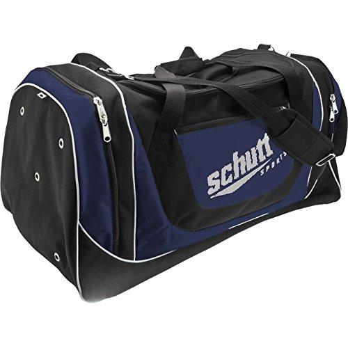 Schutt Varsity Individual Player Bag, Black/Navy