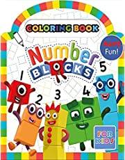 Numberblocks Coloring Book: Coloring Book with Fun, Easy, and Relaxing Coloring Pages, coloring books for children