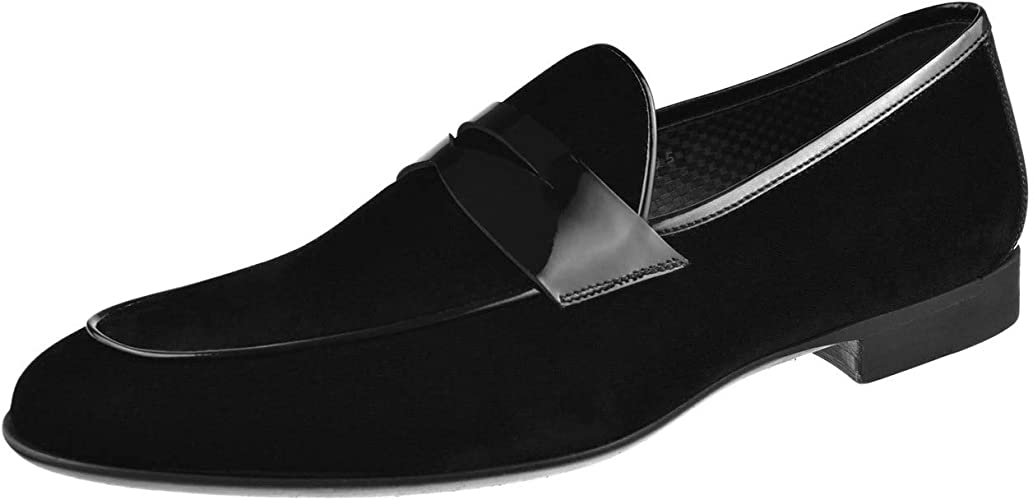 Magnanni Mens Shoes Nappa Penny Loafer 20292-Grey