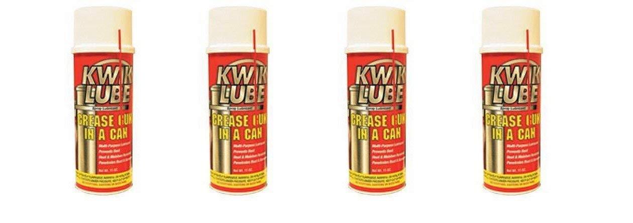 Power Gear 905068000 RV Trailer Camper Sealants All-Purpose Kwik Lube 11 Oz. (4 Pack)