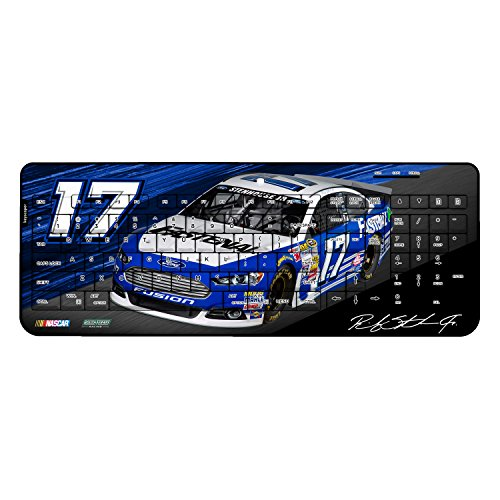 Ricky Stenhouse Jr 17 Fastenal 2015 Wireless Usb Keyboard Nascar