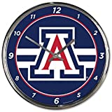 NCAA Arizona Wildcats WinCraft Official Chrome Clock