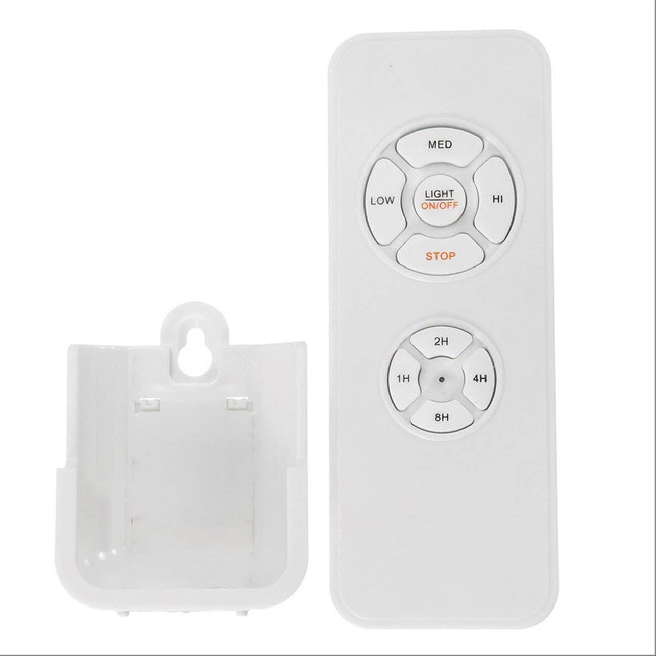 WOSOSYEYO Universale Ventilatore a soffitto Lampada Telecomando Kit 110-240V Timing Control Switch Wireless Receiver Adjusted velocit/à del Vento trasmettitore