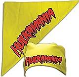 hulk hogan tank top - Hulk Hogan Costume Bandana Hulkamania Logo -Yellow