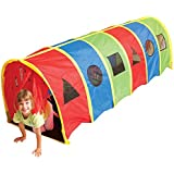 Pacific Play Tents Kids Tickle Me 9 Foot Geo-D Crawl Tunnel