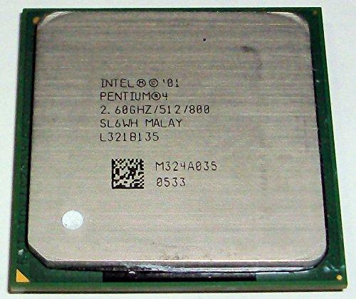 2.6GHz Intel P4 800MHz 512K L2 Cache Socket-478 RK80532PG064512 SL6WH by Intel