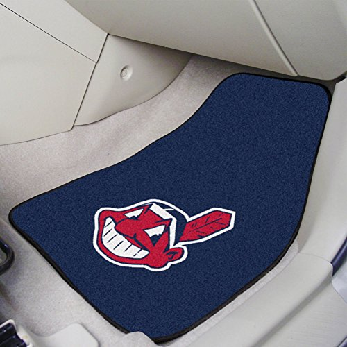 Fanmats Cleveland Indians MLB Car Floor Mats (2 Front)