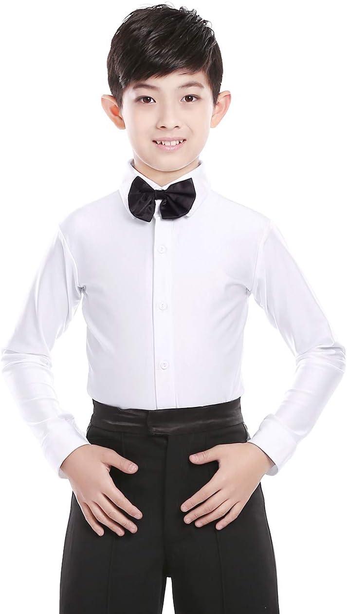 قمصان رقص للأولاد من دايدانس قمصان رقص للصبيان وقمم رقص تانغو سالسا