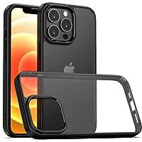 2021 Apple iPhone 13 PRO - Clear Hybrid Design Case, TPU Bumper Cover, Anti Scratch Crystal Clear PC Back Sim Case…