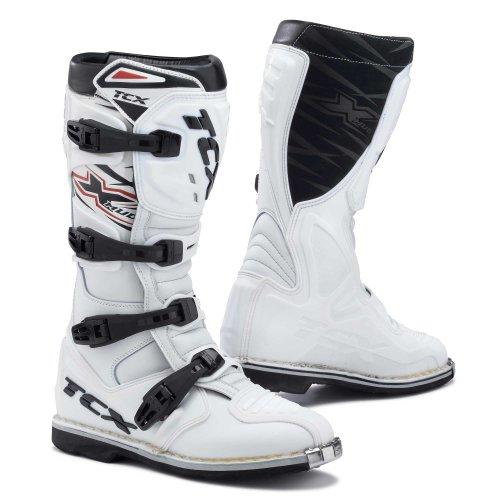 Tcx X-lera Äventyr Mx Enduro Off Road Motorcycke Motocross Stövlar Vita 41