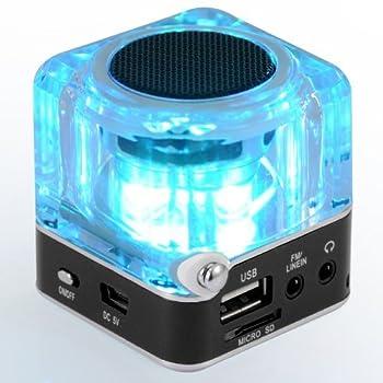 Nizhi Tt-028 Mp3 Mini Digital Portable Music Player Micro Sd Usb Fm Radio (Black) 6