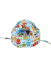 Simplicity - Casco de seguridad para bebés y bebés sin golpes, Azul Lechuza