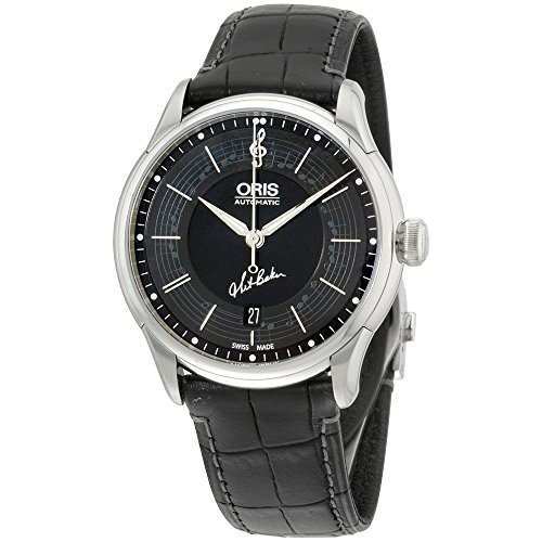 Oris Limited Edition Black Dial Stainless Steel Men's Watch 73375914084SETLS Limited Edition Black Dial
