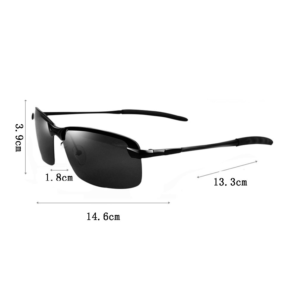Gafas de sol unisex para hombres con luz polarizada ...