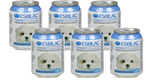 Esbilac Milk Replacer for Puppies 8oz (6 (Canine Puppy Milk)