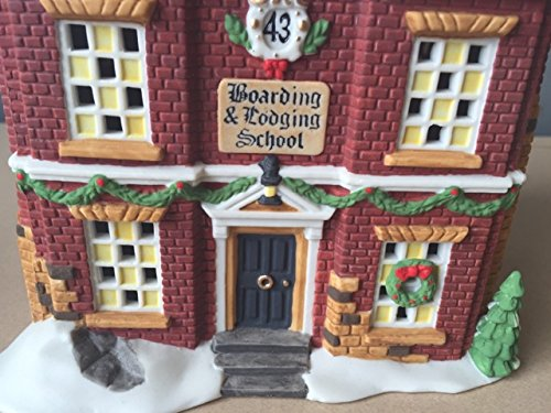 Department 56 Boarding & Lodging School Dickens Village Retired enesco 58106