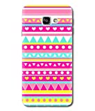 Print Vale Pink and Blue Rajasthani Design for Girls A New Arrivle Premium Quality Designer Printed Polycarbonate Matte Finish Hard Back Case Cover for Samsung Galaxy C9 Pro
