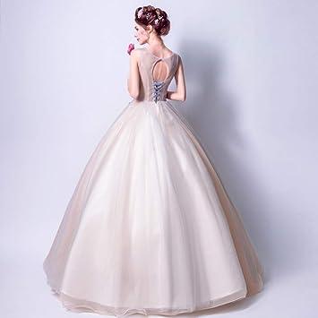 WJZ Magnífico Podrido Blanco Suave Rosa Oscuro Rojo Flores Bordado Novia Vestido De Novia Cena De