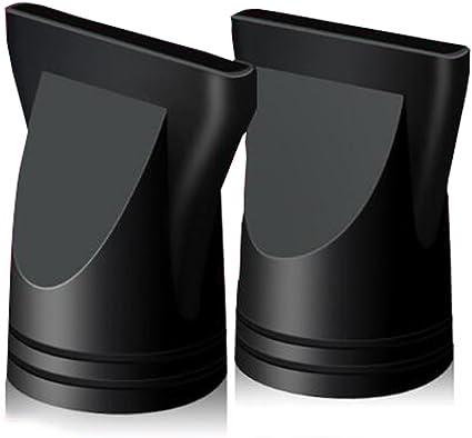 2 boquillas de plástico para secador de pelo, concentrador