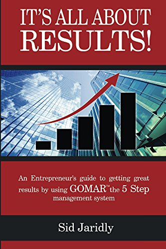 It's All About Results!: An Entrepreneur's Guide to Getting Great Results by Using GOMAR the 5 Step Management ()