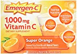 Cheap Emergen-C Vitamin C Fizzy Drink Mix Super Orange – 1000 mg – 30 Packets