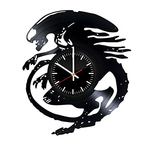 Alien vs Predator Vinyl Records Wall Clock - Original Present for Epic Film