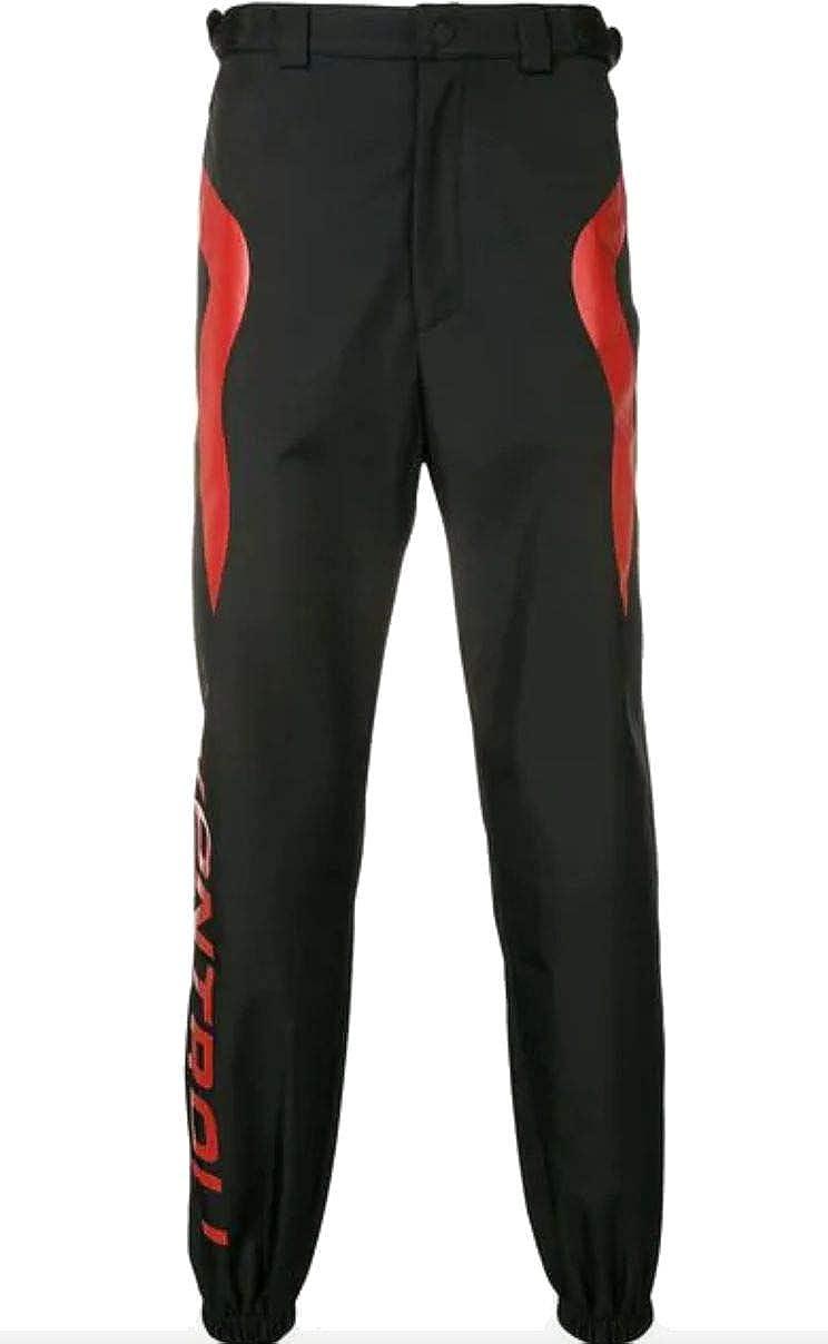 KAPPA KONTROLL Mens 304Lfv0907 Black Synthetic Fibers Pants