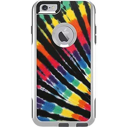detailed look a06ec 95f69 Amazon.com: Tie Dye OtterBox Commuter iPhone 6 Plus Skin - Tie Dye ...