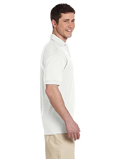 af0a657bf18 Jerzees Men's Heavyweight Welt Knit Collar Jersey Polo Shirt at Amazon Men's  Clothing store: