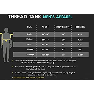 Thread Tank This Is What An Awesome Beard Looks Like Men's Modern Fit T-Shirt Top Tee 2X-Large