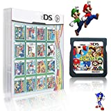 482 in 1 Game Cartridge, DS Game Pack Card Compilations, Super Combo Multicart for Nintendo DS, NDSL, NDSi, NDSi LL/XL, 3DS,