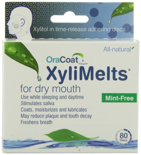 XyliMelts for Dry Mouth, Mint-Free (240 Discs) by ORAHEALTH by Xylimelts