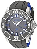Invicta Men's 'Pro Diver' Automatic Stainless Steel and Silicone Diving Watch, Color:Grey (Model: 20200)