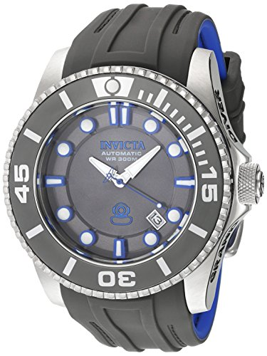 Sport Automatic Diver Watch (Invicta Men's 'Pro Diver' Automatic Stainless Steel and Silicone Diving Watch, Color:Grey (Model: 20200))