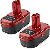 2 Pack 5.0Ah 19.2V Lithium-ion Battery Replacement for 19.2 Volt Craftsman DieHard C3 Battery XCP 130279005 1323903 130211004 11045 315.115410 315.11485 Cordless Battery