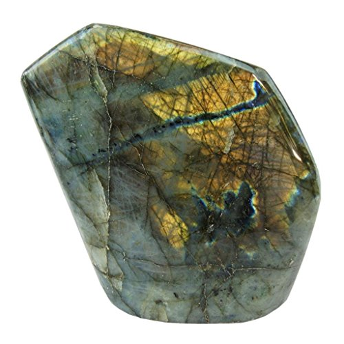 Labradorite Upright Stone by Joyoung Int. (12-16 oz.)