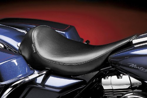 Le Pera Silhouette Solo Vinyl Seat for 1991-2010 Harley Davidson Touring Models - HD FLTR/I Road Glide 2002-2007
